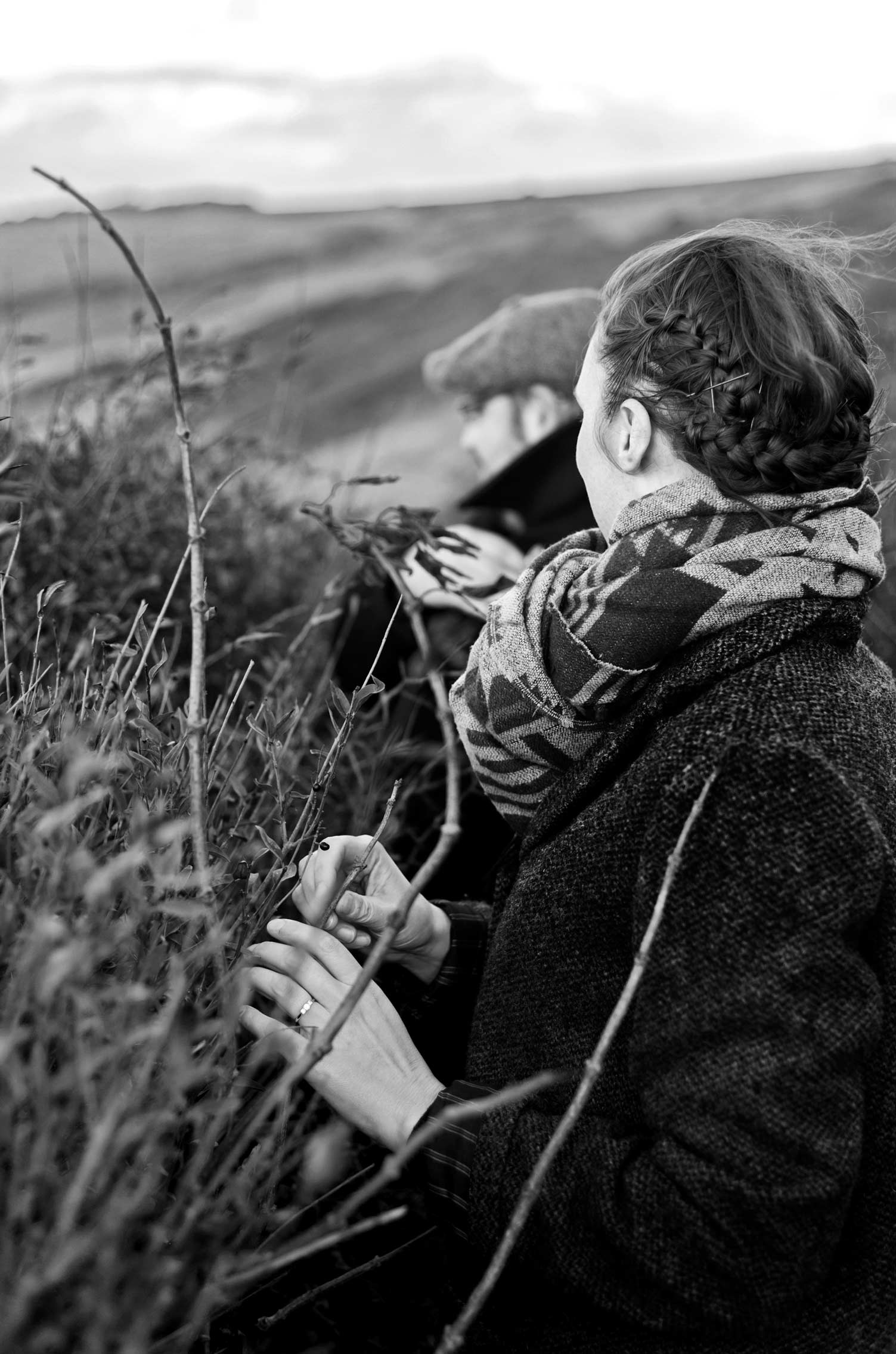 A Sussex engagement shoot in Seven Sisters country park