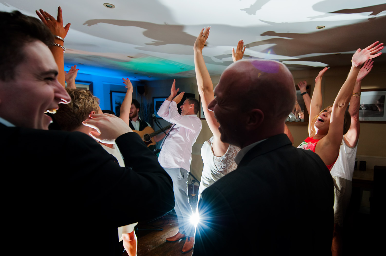 Wedding reception at The Earl of March pub in Sussex